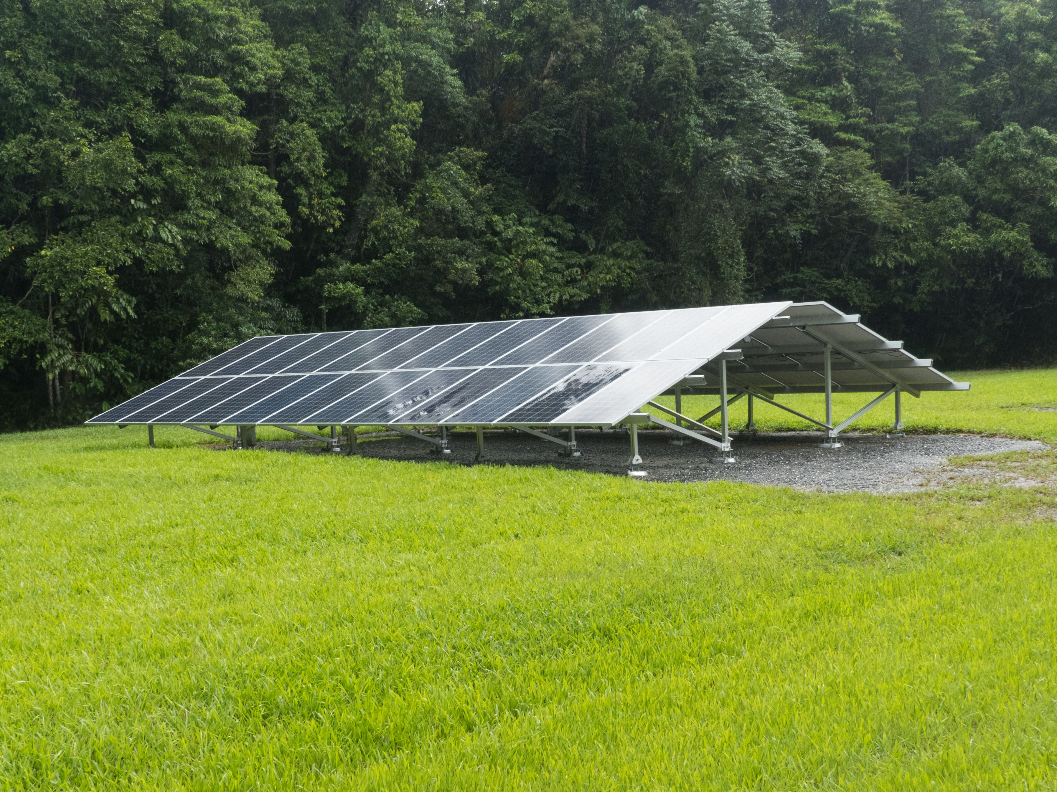 Daintree Lowland Rainforst sees more solar panels installed in April 2019