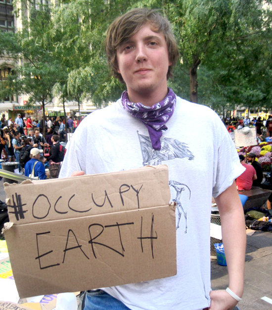 #OccupyEarth