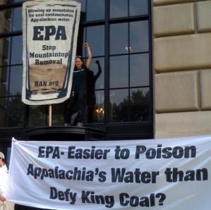 EPA Sit In