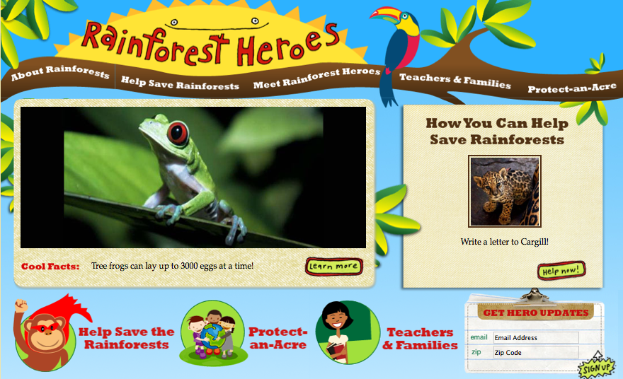 Rainforest Heroes