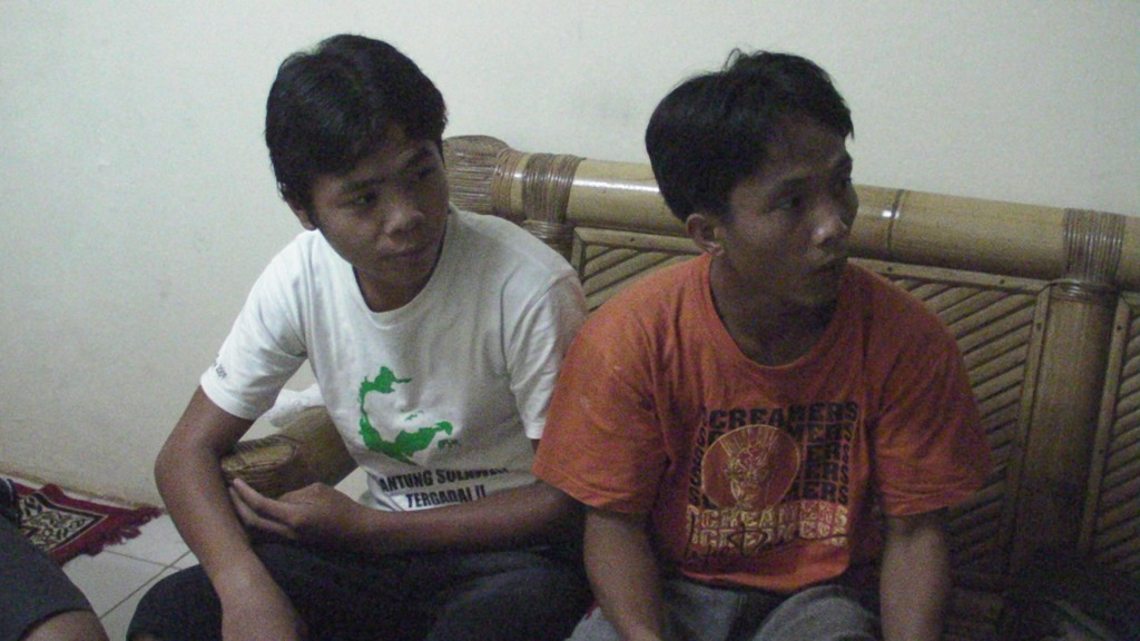 Ferdi and Volario: Recently Escaped Palm Oil Plantation Slaves Laborers