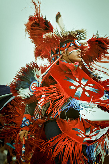 Long Plain First Nation Pow-wow by flickr user Shawna Nelles