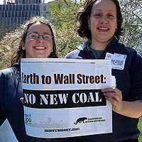 Earth to Wall Street - No more coal