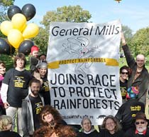 General Mills Joins Race to Protect Rainforests!