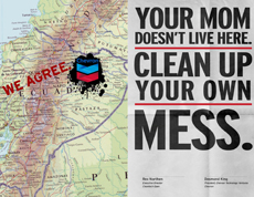 Chevron: Your mom doesn't live, clean up your own mess
