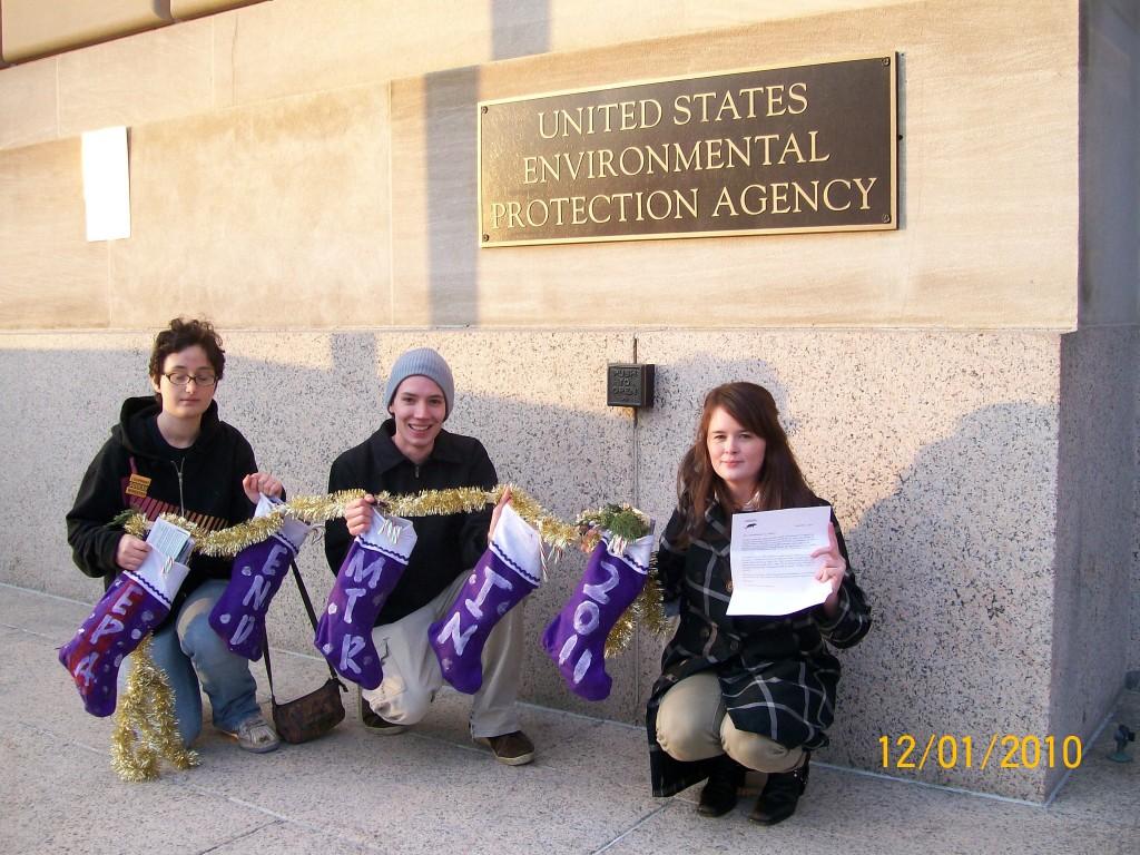 December 1st EPA public comment delivery