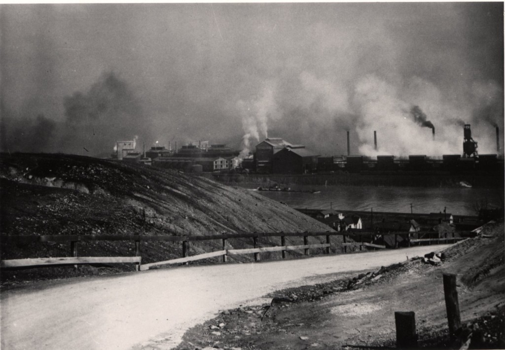 Photo of the Donora Zinc Mill