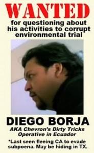 Diego Borja: Wanted