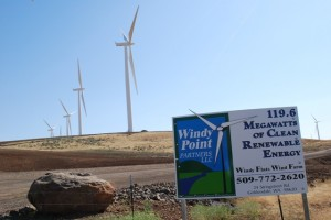 Windy Flats Wind Farm in Washington