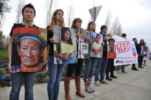 Chevron is Guilty: Delivery event at Chevron headquarters
