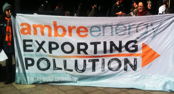 Ambre Energy: Exporting Pollution by Matt Leonard