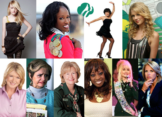 Famous Girl Scouts