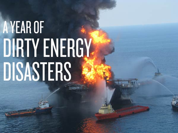 Dirty energy disasters