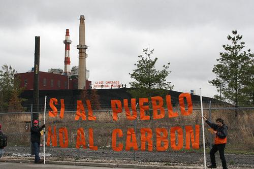 Si al pueblo, no al carbon.