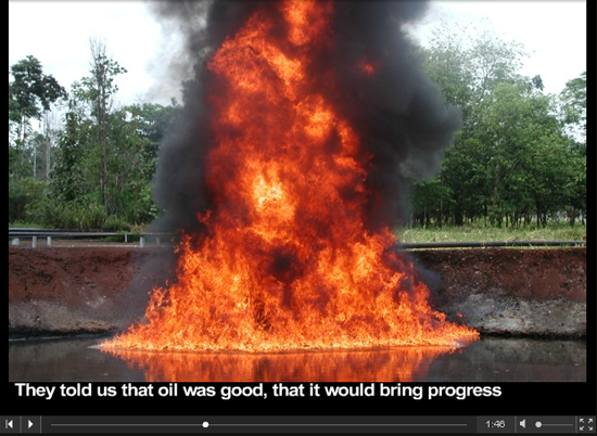 Tell Chevron to Clean Up Ecuador Now!