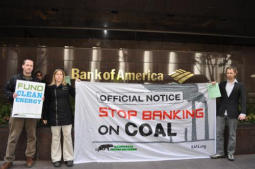 Bank of America funding coal