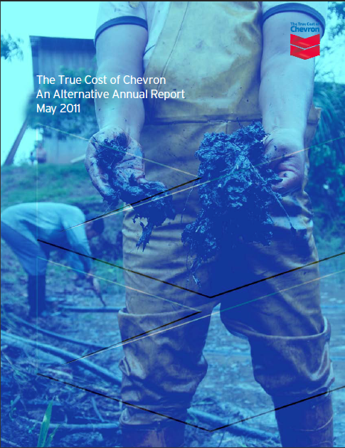 True Cost of Chevron report 2011 cover