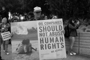 Chevron: Oil companies should not abuse human rights