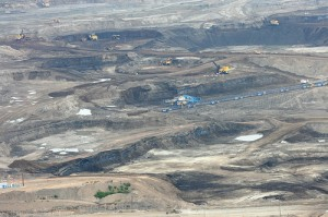 Tar sands oil site