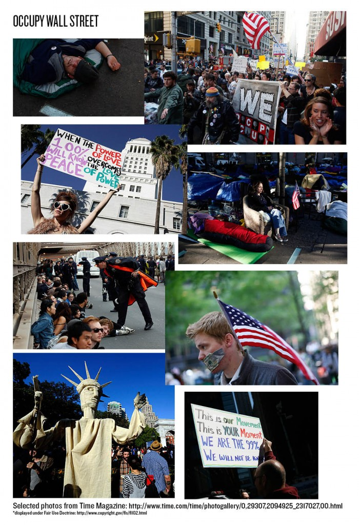 Occupy Wall St. Photos from Time Magazine