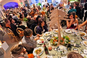 Dinner at REVEL 2011