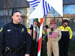 Asheville BoA protest