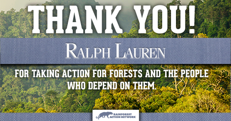 Ralph Lauren Commits to Rainforest-Free Fabrics