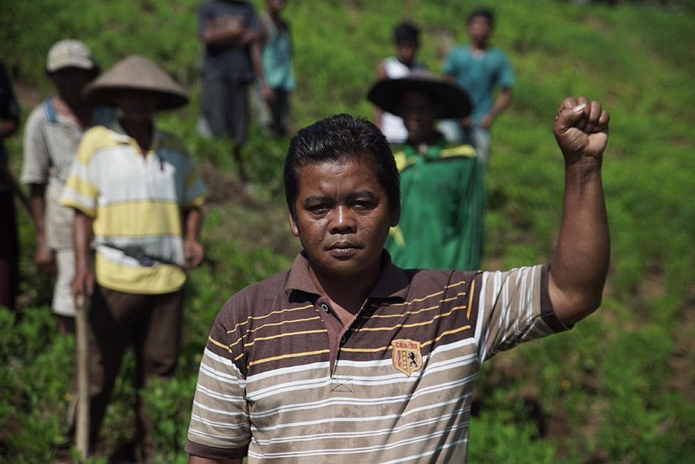 Mohammad Jais, Sekato Jaya farmers' group in Lubuk Mandarsah, Jambi Province, Indonesia