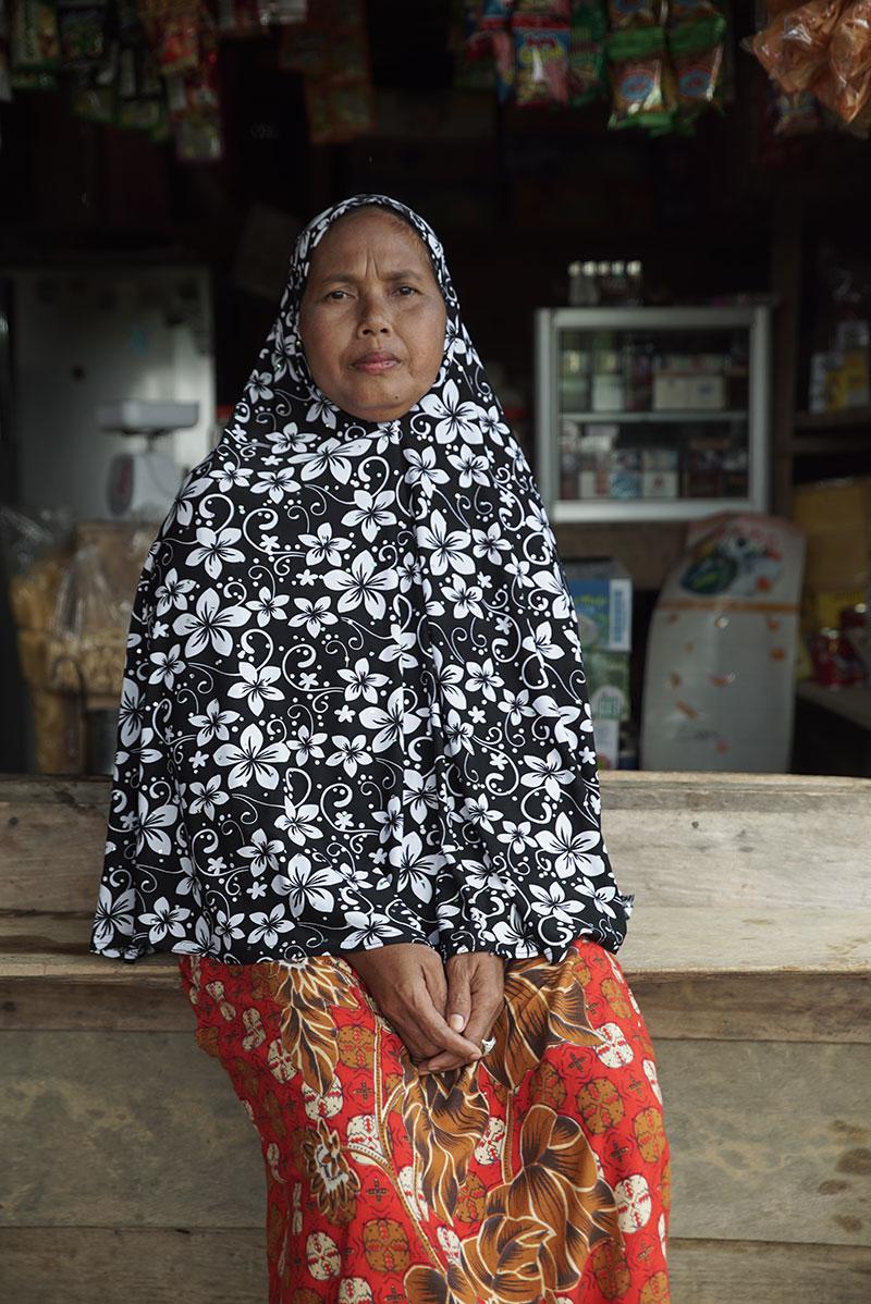 Ibu Nurhotmahsari, Lubuk Mandarsah, Jambi Province, Indonesia