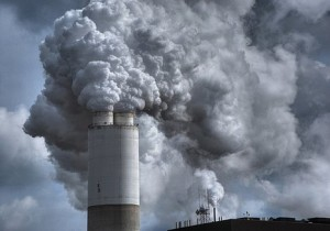 Coal smokestack