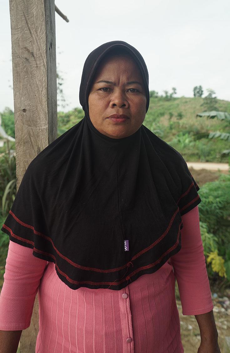 Maymunah, Lubuk Mandarsah, Jambi Province, Indonesia