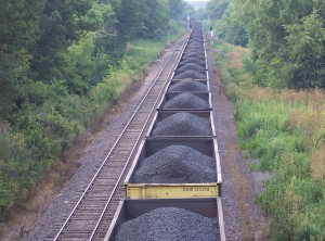 Coal train by Flickr user Scott Granneman