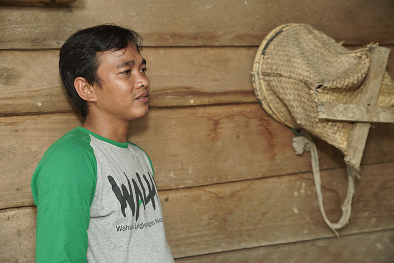 Rudiansyah, Executive Director of WALHI Jambi, (Friends of the Earth - Jambi Province, Indonesia)