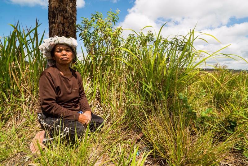 Delima br Tobing, Aek Lung, North Sumatra, Indonesia
