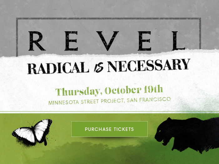 Purchase Tickets! Join Us for REVEL - Radical is Necessary. Thursday, October 19th, 2017 at the Minnesota Street Project, SF