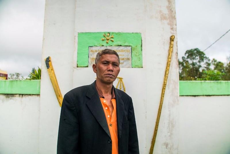 Toni Simanjuntak, Desa Nagasaribu, Sumatera Utara, Indonesia