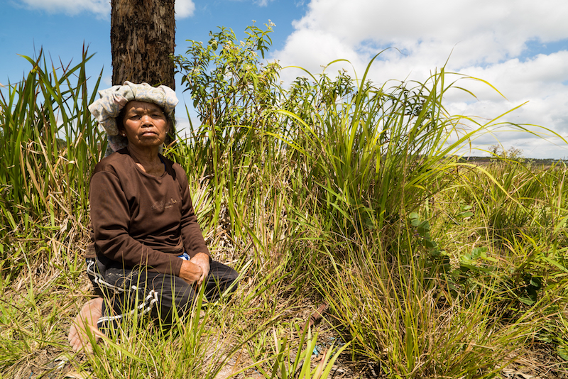 Delima Boru Tobing, Desa Aek Lung, Sumatera Utara, Indonesia