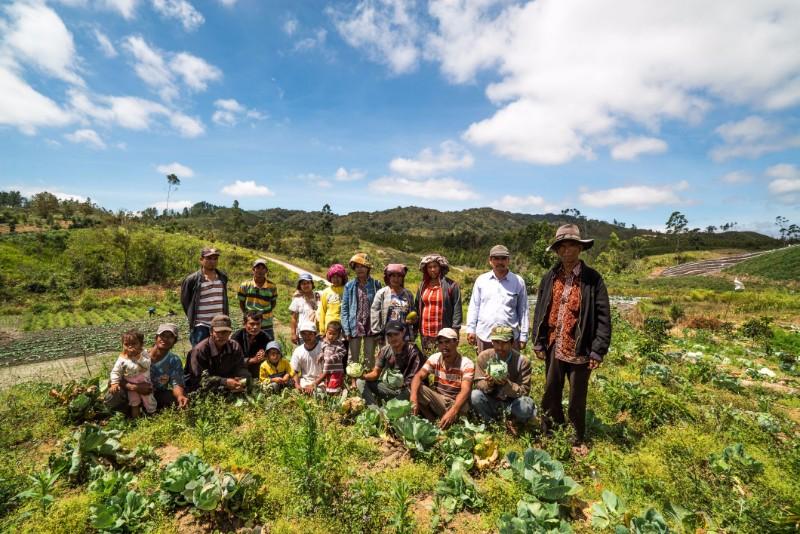 Beslin Simamora, Desa Aek Lung, Sumatera Utara, Indonesia