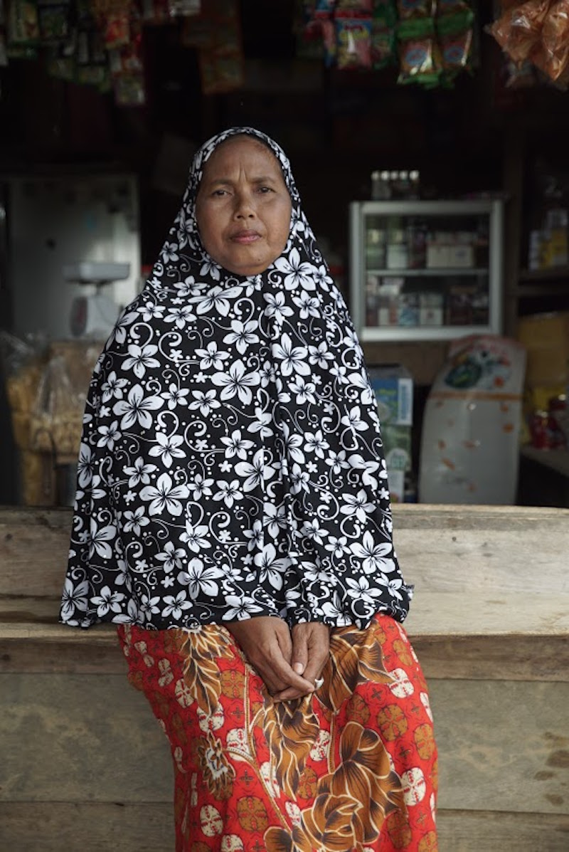 Ibu Nurhotmahsari, Desa Lubuk Mandarsah, Provinsi Jambi, Indonesia