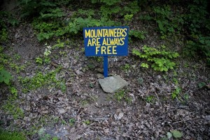 Mountaineers are always free