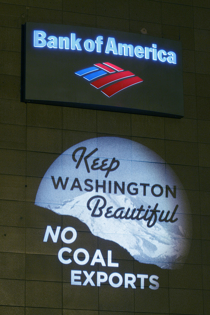 Bank of America and Coal Exports