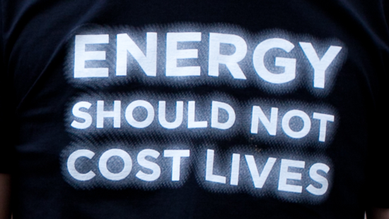 Energy Shouldn't Cost Lives