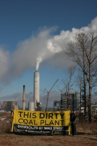 This dirty coal plant bankrolled by Wall St.