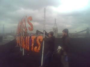 RAN, Rising Tide NA, LVEJO & Backbone Campaign Occupy Chicago Coal Plant