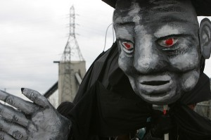 Chicago Coal Puppet