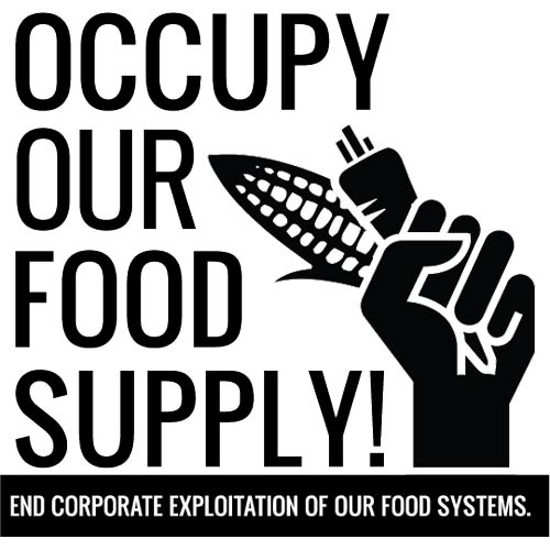 Occupy Our Food Supply Logo - Download Me!