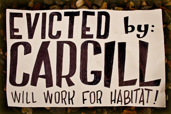 Evicted by Cargill