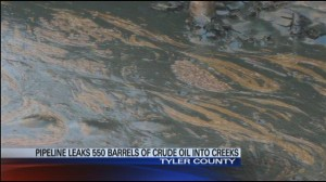 East Texas Oil spill