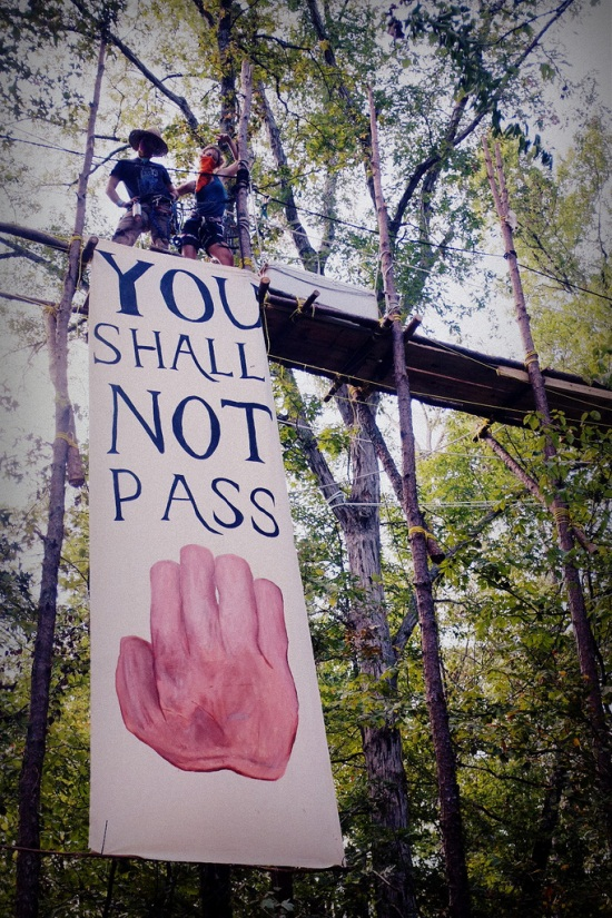 Tar Sands Blockade, September 2012