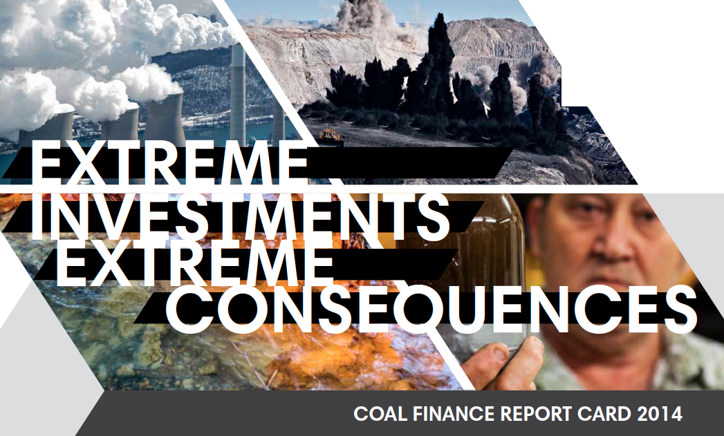 Download the 2014 Coal Finance Report Card